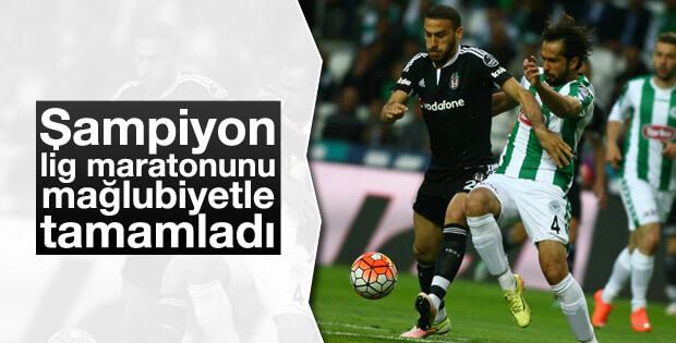 Şampiyon Beşiktaş Mağlubiyetle Bitirdi