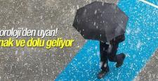 Meteoroloji'den Konya'ya yağış ve dolu uyarısı!