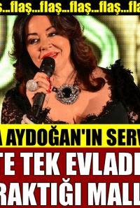 Oya Aydoğan'ın Akla Gelmeyecek Serveti