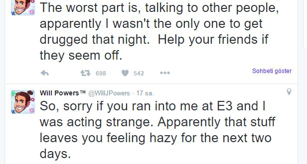 E3 2016'da Deep Silver'ın Halka İlişkiler Çalışanının İçeceğine İlaç Attılar!