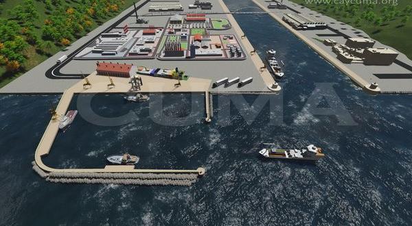 Zonguldak Liman Projesinin Temeli Atılacak