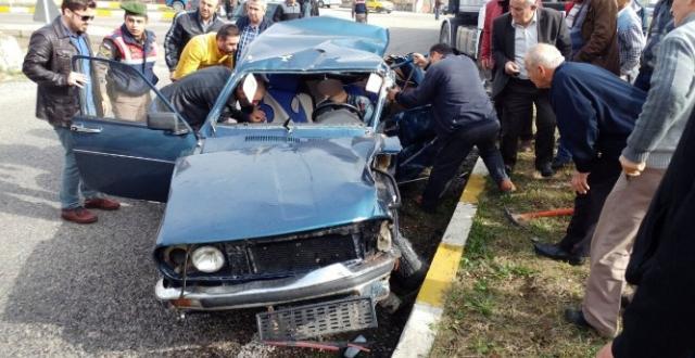 Zonguldak / Çaycuma'da Trafik Kazası: 1 Ölü