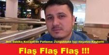 Son Dakika Kocaeli'de Patlama: Zonguldaklı İşçi Hayatını Kaybetti