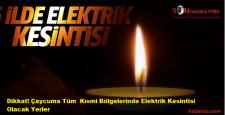 Son Dakika Zonguldak Çaycumada'ki Elektrik Kesintisi İçin Tıklayın