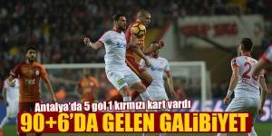 Antalyaspor-Galatasaray maç sonucu